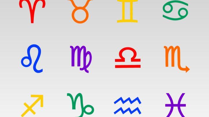 Символы знаков зодиака ч1