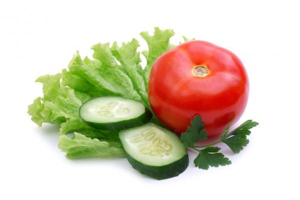 Огуречно-помидорная диета
