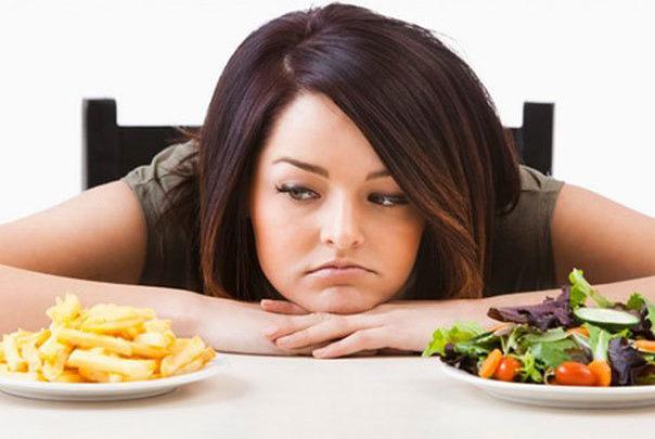 Настроение во время диеты