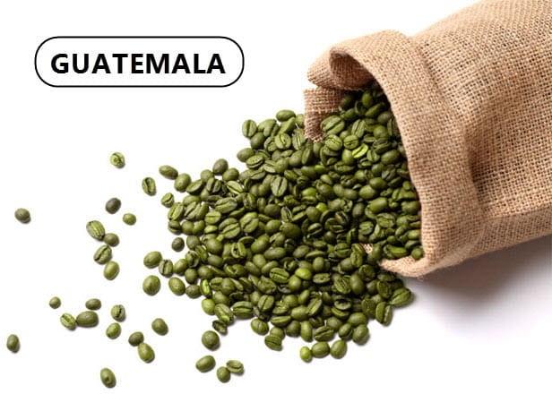 Зеленый кофе из Гватемалы