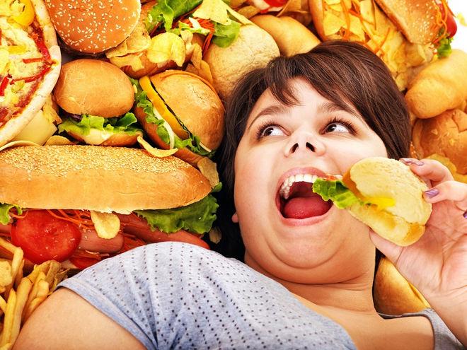 Фастфуд и похудение