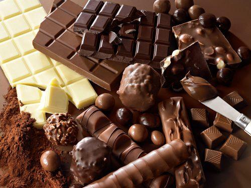 Калорийность разных видов конфет