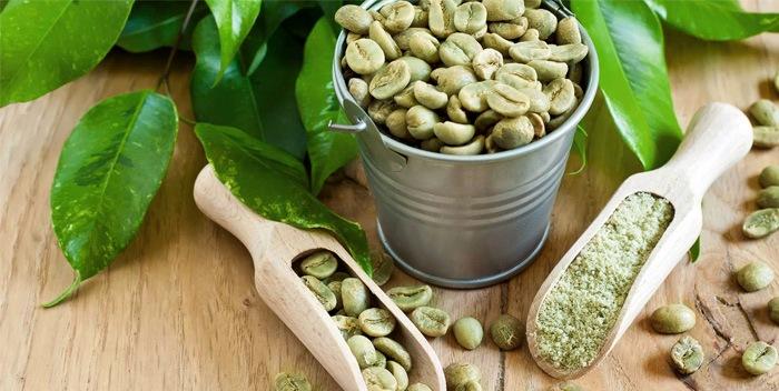 Здоровый образ жизни с зеленым кофе