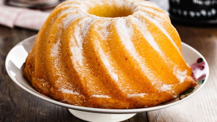 Диетический лимонный кекс
