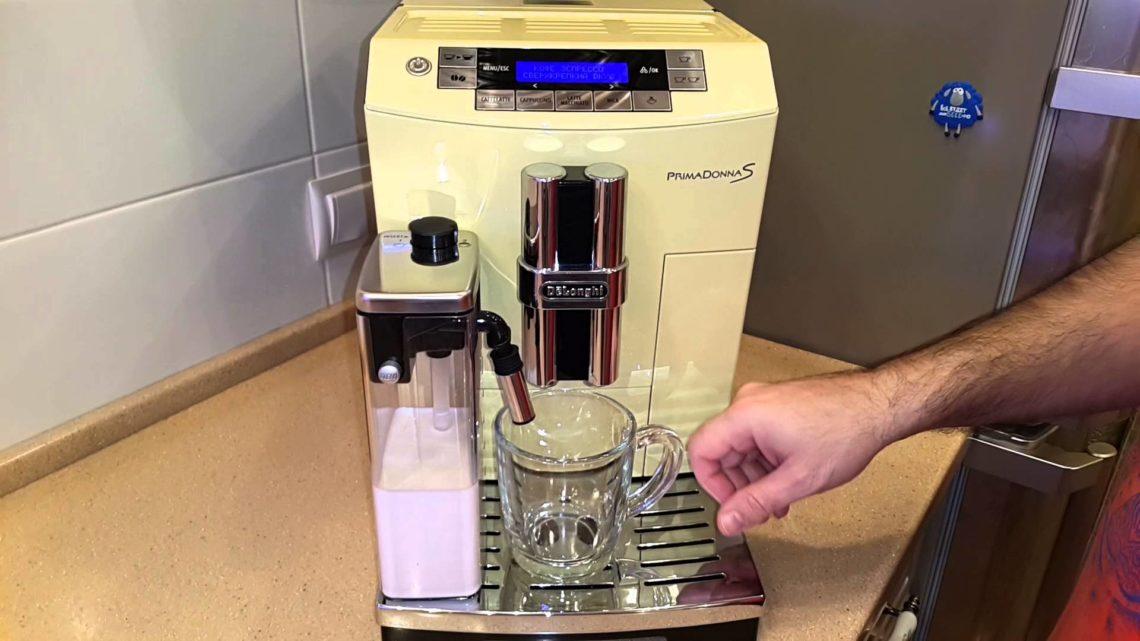 Приготовление   зеленого кофе в кофе-машине