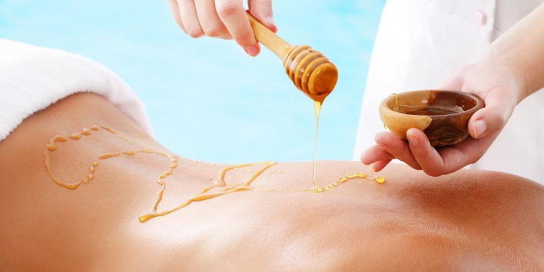Медовый массаж для похудения