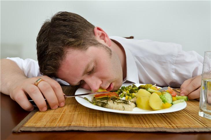 Пища, от которой устают