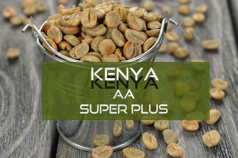 Зеленый кофе из Кении