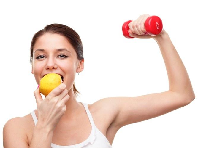Жидкость и фитнес питание