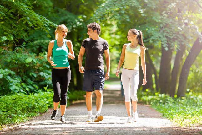 Прогулки и похудение