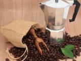 Приготовление  зеленого кофе в гейзерной кофеварке