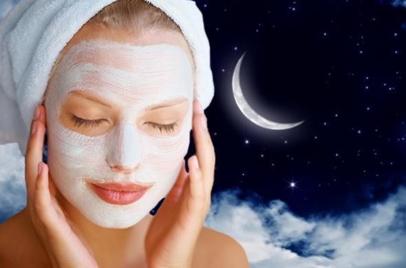 Полезные ночные маски для лица на ночь