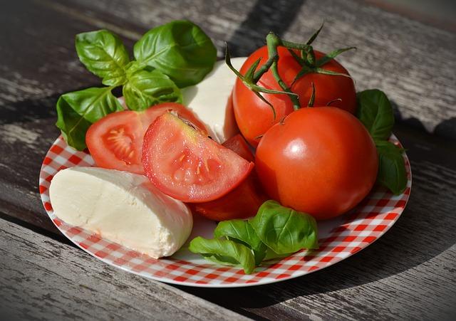 Сырно-помидорная диета